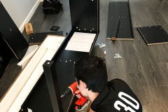 andrei's moving work gallery TV stand assembly